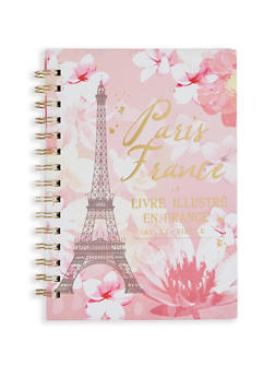 Paris France Spiral Notebook - 7132024903146