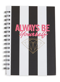Always Be Yourself Spiral Notebook - 7132024903894