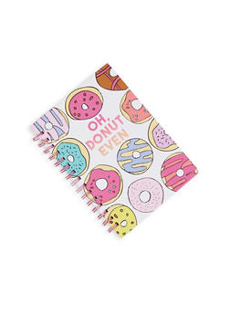 Oh Donut Even Spiral Notebook - 7132024903909