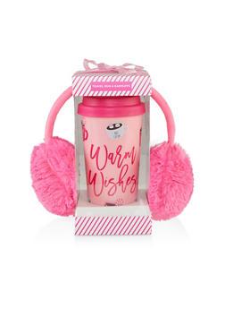 Warm Wishes Travel Mug and Earmuffs Set - 7132024904399