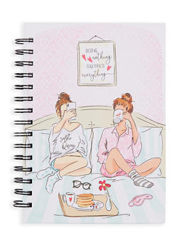 Doing Nothing Together is Everything Spiral Notebook - 7132024905333