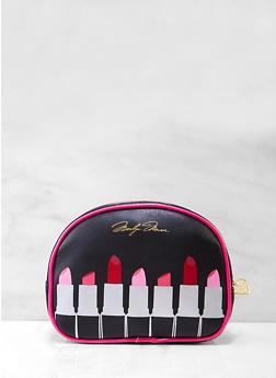 Lipstick Graphic Cosmetic Pouch - 7132024907958