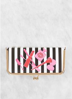 Striped Cosmetic Box - 7132024908593