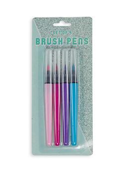 Set of 4 Brush Pens - 7134024902389