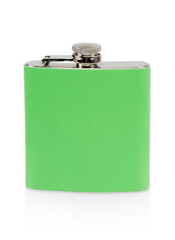 Neon Faux Leather Flask - 7134068064139