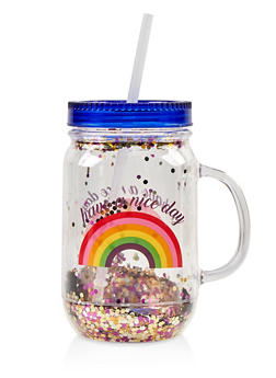 Have a Nice Day Rainbow Tumbler - 7135024901658