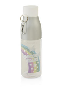 Born To Be A Unicorn Flip Straw Water Bottle - 7135024901963