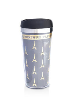 Bonjour Paris Travel Mug - 7135024904610