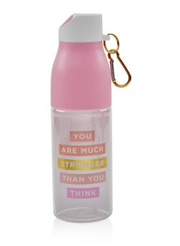 You Are Much Stronger Than You Think Water Bottle - 7135024906193