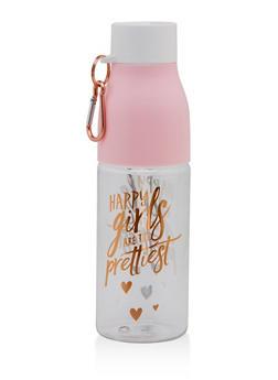 Happy Girls Are The Prettiest Water Bottle - 7135024909903