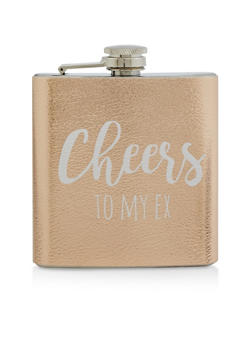Cheers To My Ex Flask - 7135068061444