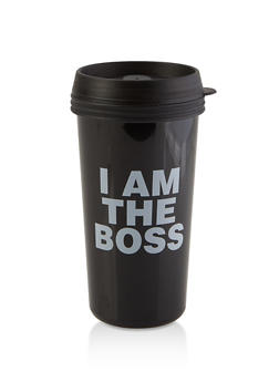 I Am the Boss Travel Mug - 7135075638604