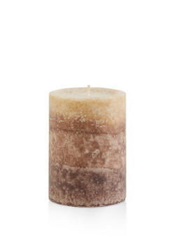 4 Inch Pillar Candle | Creamy Tahitian Coconut - 7136075562605