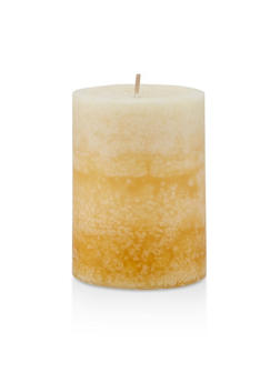 4 Inch Pillar Candle | French Country Vanilla - 7136075562606
