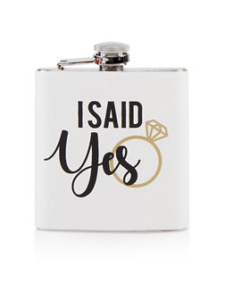 I Said Yes Flask - 7137068060614