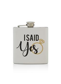 I Said Yes Flask - 7137068064160