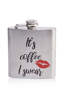 Its Coffee I Swear Flask - 7137068064163