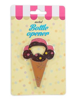 Ice Cream Cone Metal Bottle Opener - 7137075638417