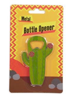 Cactus Metal Bottle Opener - 7137075638419