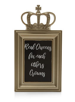 Real Queens Fix Each Others Crowns Metallic Picture Frame - 7138062924960