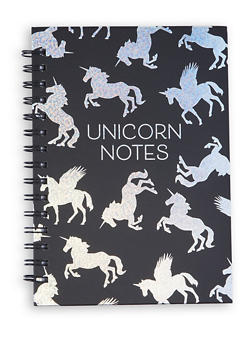Unicorn Notes Spiral Notebook - 7139024901963