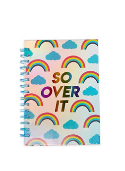 So Over It Rainbow Spiral Notebook - 7139024904627