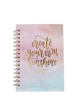 Life Is Colorful Spiral Notebook - 7139024904685