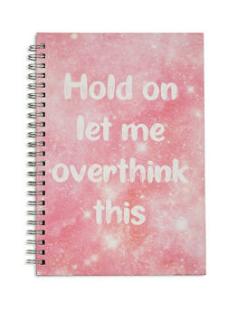 Hold On Let Me Overthink This Spiral Notebook - 7139068064449