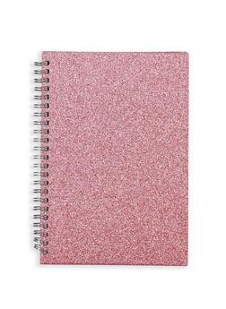 Glitter Spiral Notebook - 7139068065495