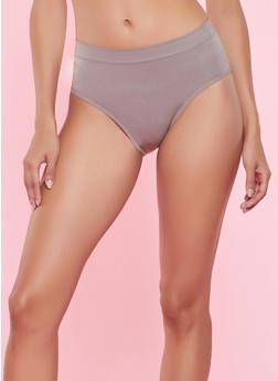 Seamless Shapewear Bikini Panty - TAN - 7150035160018