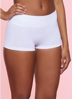 Shapewear Boyshort Panties - HEATHER - 7150035162525