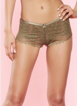 Lace Boyshort Panty - 7150068063114