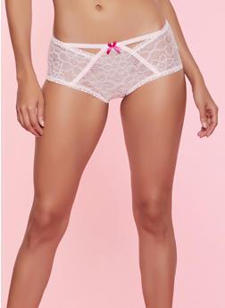 Lace Boyshort Panty - 7150068064040