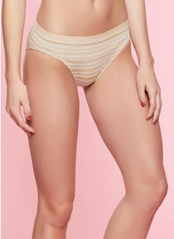Striped Bikini Panty | 7162064870061 - 7162064870061