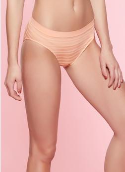 Striped Bikini Panty | 7162064870061 - CORAL - 7162064870061