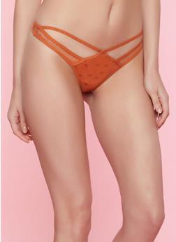 Mesh Thongs for Women