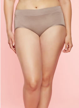 Plus Size Hipster Panties - 7166035160576