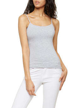 Basic Shelf Bra Camisole - 7201054261001