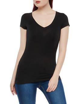 Basic Black T Shirts for Women