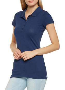 Basic Short Sleeve Polo Shirt - 7203054263537