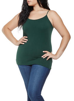 Plus Size Basic Cami - 7241054260001