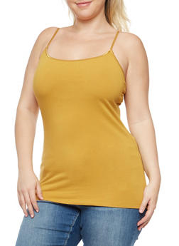 2d595006df5 Plus Size Basic Cami - 7241054260001