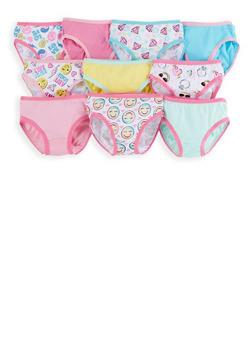 Girls 4-6x Assorted Panties 10 Pack - 7568054730508