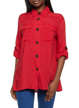 Contrast Button Front Top - 8306051061166