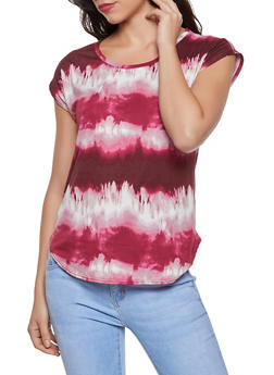 Tie Dye Soft Knit Top - 8329020624807