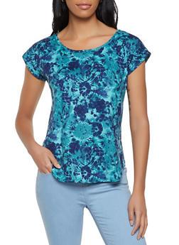 Soft Knit Tie Dye Tee - 8329020626807