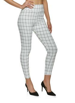 Printed Pull On Pants - 8341020626497