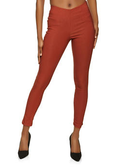 Pull On Stretch Dress Pants - 8341020626508