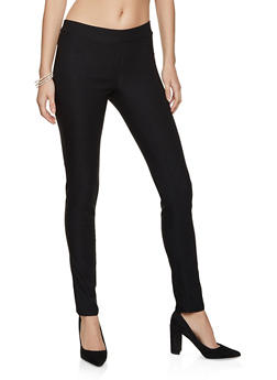 Solid Skinny Dress Pants - 8341020629907