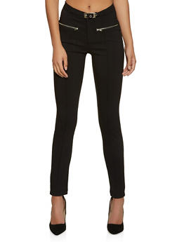 Stretch Pintuck Dress Pants - 8341056570381